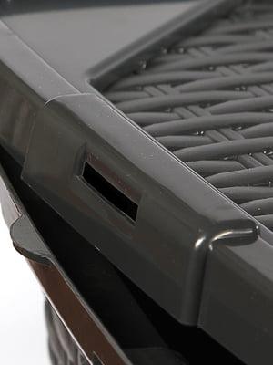 Ящик пластиковый с крышкой, не прозрачный Heidrun Intrigobox (33х23х16см( (10л) | 5132155