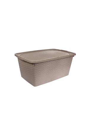 Ящик пластиковый с крышкой, не прозрачный Heidrun Intrigobox (20л) (43х32х22см) | 5132157