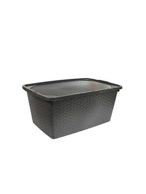 Ящик пластиковый с крышкой, не прозрачный Heidrun Intrigobox (20л) (43х32х22см) | 5132158