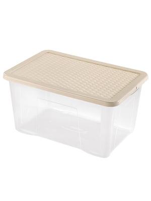 Ящик пластиковый с крышкой Heidrun R-BOX (60х40х26см) (50л) | 5132163