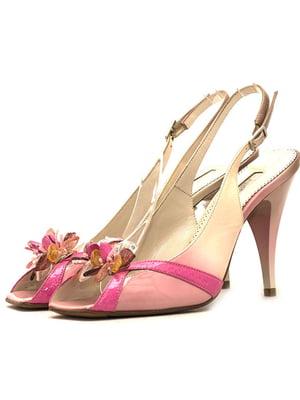 Босоножки розовые | 5026712