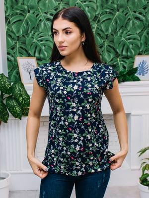 Блуза темно-синяя | 5133954
