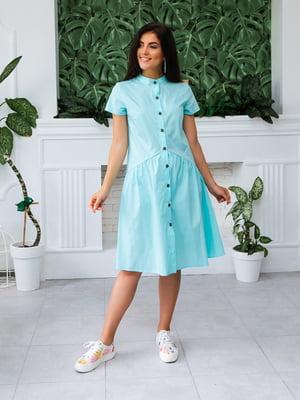 Платье голубое | 5133955