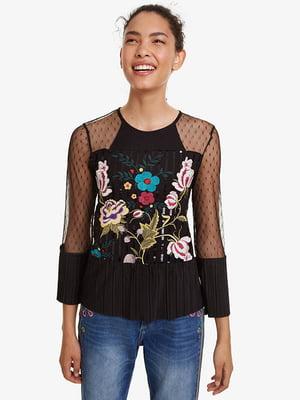 Блуза черная | 5111242