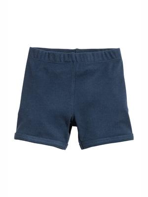 Шорты темно-синие пижамные | 5134714