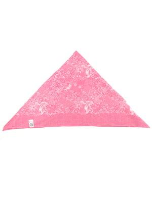 Косинка рожева з принтом   5135624