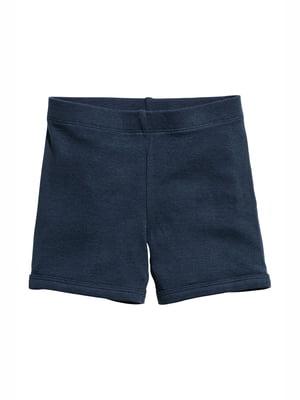 Шорты темно-синие пижамные | 5135920
