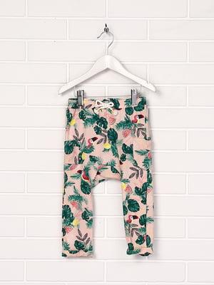 Штани рожево-зелені | 5135066