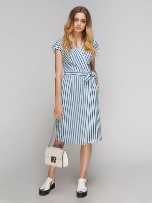 Сукня синя в смужку | 5128881