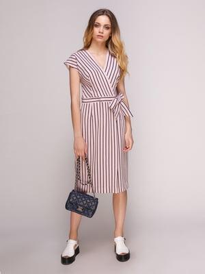 Сукня рожева у смужку | 5128884