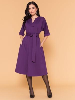 Платье фиолетовое   4816077