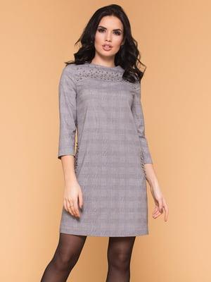 Платье светло-серое | 4838328