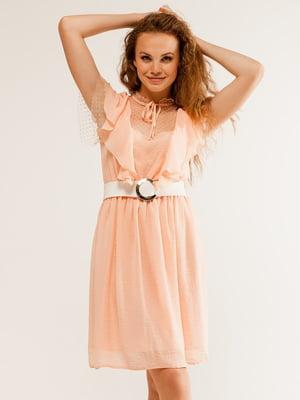 Платье цвета пудры   5094676
