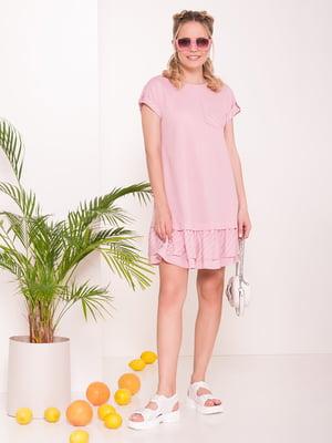 Платье розовое | 5112300