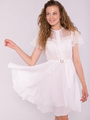 Платье молочного цвета   5125721