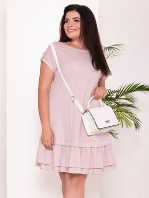 Платье бежевое   5136071