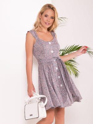 Платье комбинированной расцветки | 5136075
