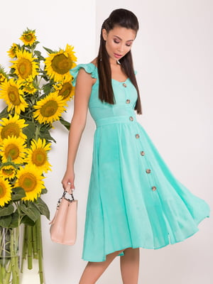 Платье цвета мяты | 5136077