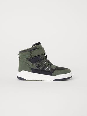 Кроссовки зеленые | 5127145