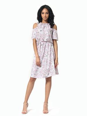Платье в цветочный принт | 5136800