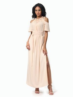 Сукня пісочного кольору | 5136802
