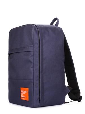 Рюкзак для ручної поклажі синій | 5136650