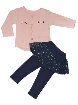 Комплект: кофта та штани-спідниця | 4859320