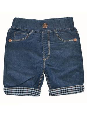 Шорти темно-сині джинсові   5136847