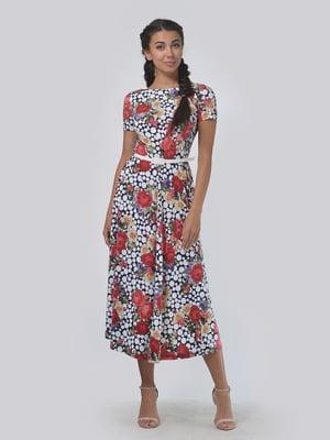 Платье комбинированной расцветки | 5094007
