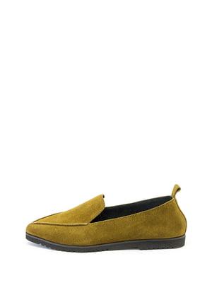Туфлі гірчичного кольору  | 5137033