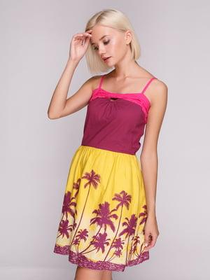 Платье в принт | 4620344