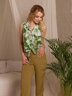 Блуза в принт | 5115767