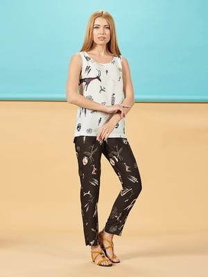 Блуза молочного цвета | 5115778