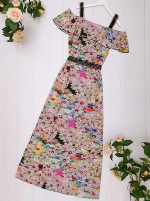 Платье разноцветное   5115929
