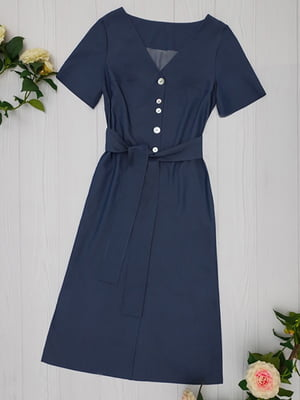 Платье синее | 5115999