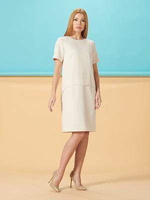 Платье молочного цвета   5116025