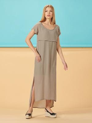 Сукня кольору хакі | 5116099