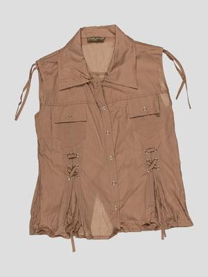 Блуза коричневая | 3168542