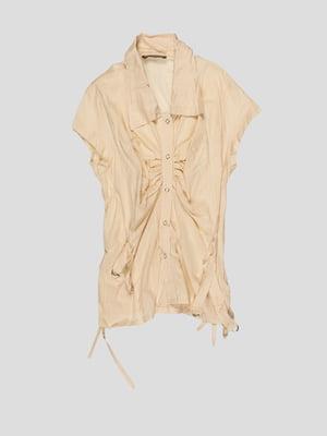 Блуза бежевая | 3168545