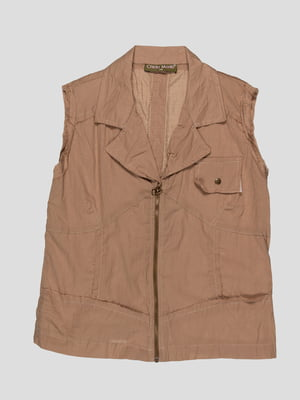 Блуза коричневая | 1590261