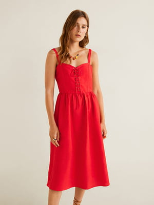 Платье красное | 5139714