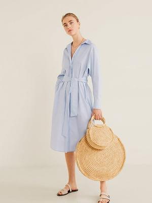 Платье голубое | 5139724