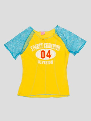 Футболка желтая | 3168502