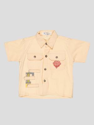 Сорочка кремового кольору | 5125066