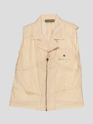 Блуза бежева | 1590262