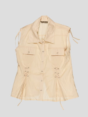 Блуза бежевая | 3168541