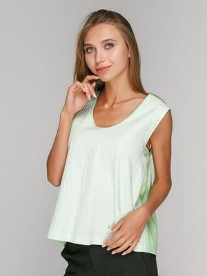 Блуза кольору м'яти | 4510570