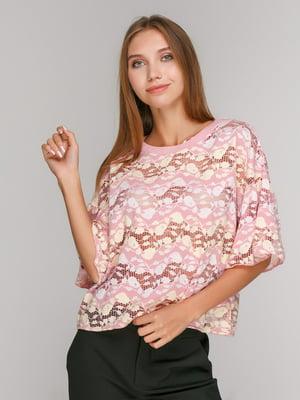 Блуза в рисунок   4873494