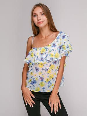 Блуза в цветочный принт   4519382