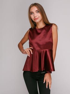 Блуза бордовая   2753018